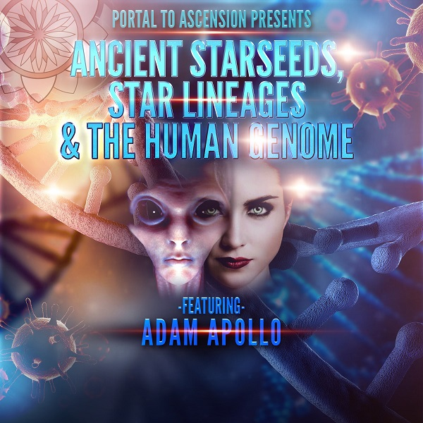 Adam Apollo: Ancient Starseeds, Star Lineages, & The Human Genome