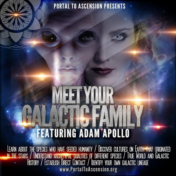 Adam Apollo Meet Your Galactic Family