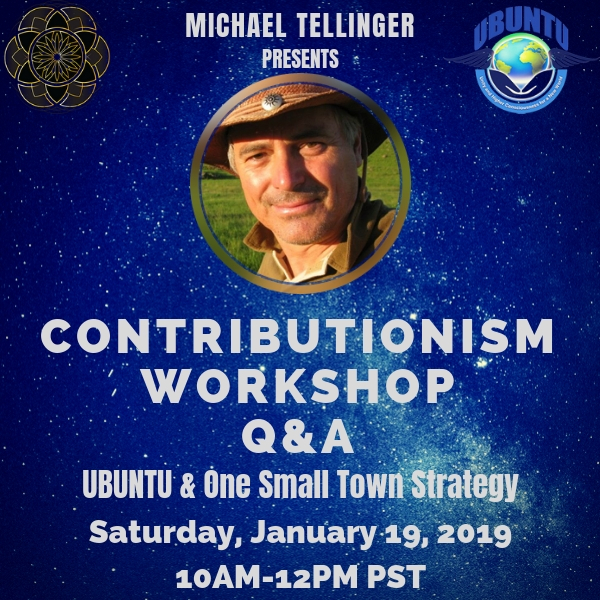 Michael Tellinger: UBUNTU Contributionism Workshop [JAN 2019]
