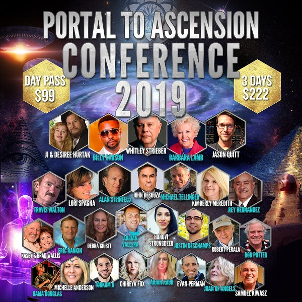 Portal To Ascension Conference 2019 Livestream