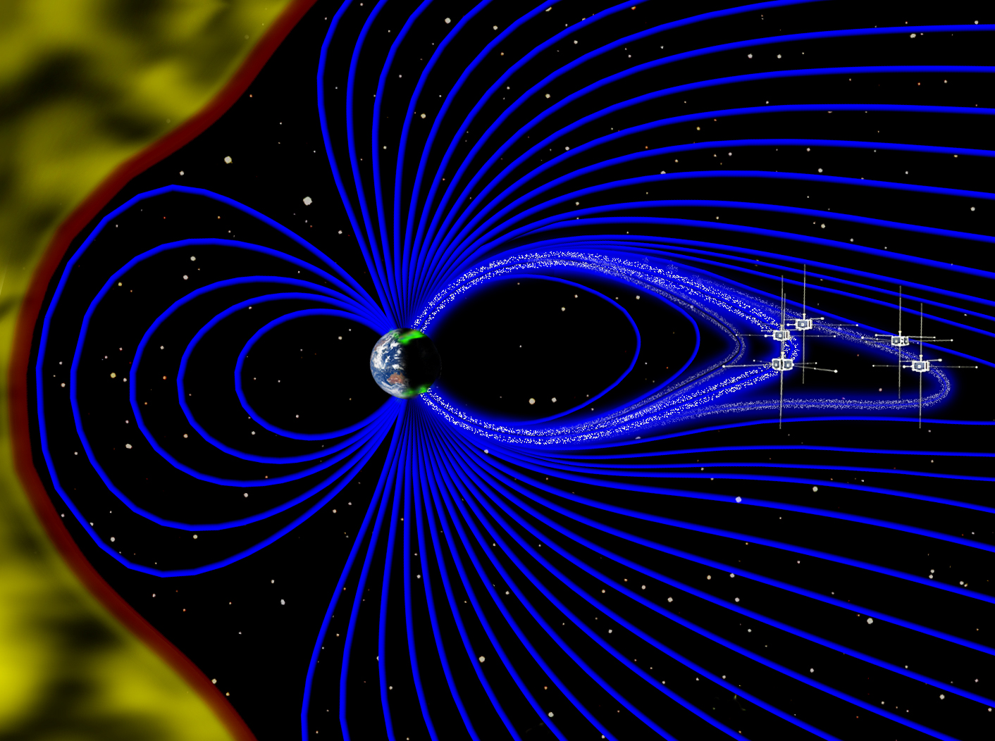 Earth's Magnetic Ascension Field Aura