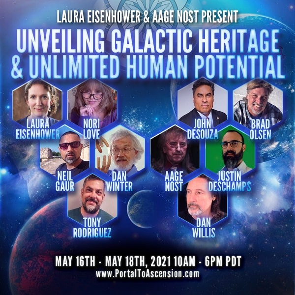 Unveiling Galactic Heritage & Unlimited Human Potential