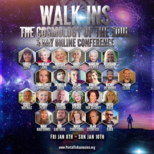 Walk-Ins 3 Day Online Conference | The Cosmology of The Soul